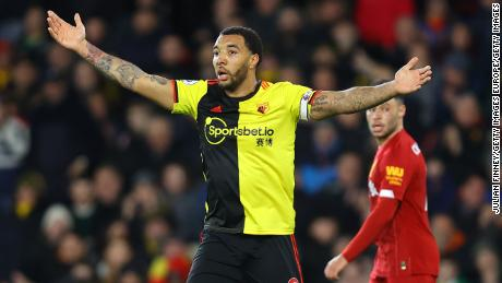 Troy Deeney has expressed concerns about returning to training.