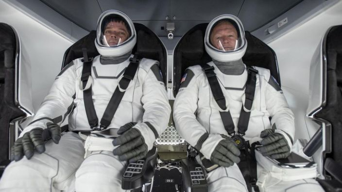 Bob Behnken (L) and Doug Hurley (R) are beginning a new era in human spaceflight