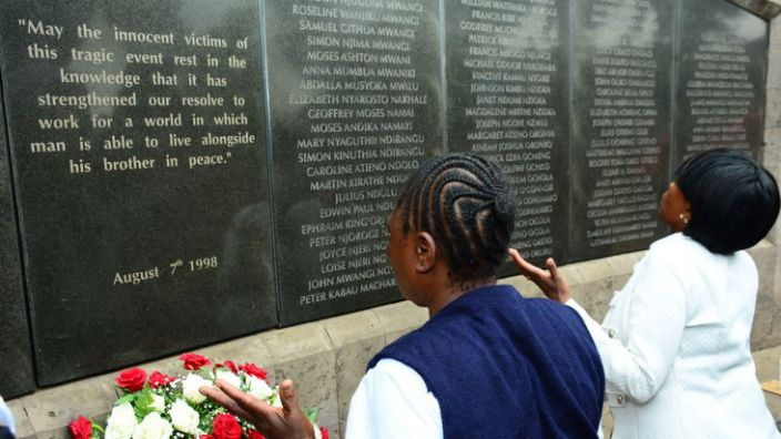There is now a memorial in the Kenyan capital, Nairobi, to the victims of the attack