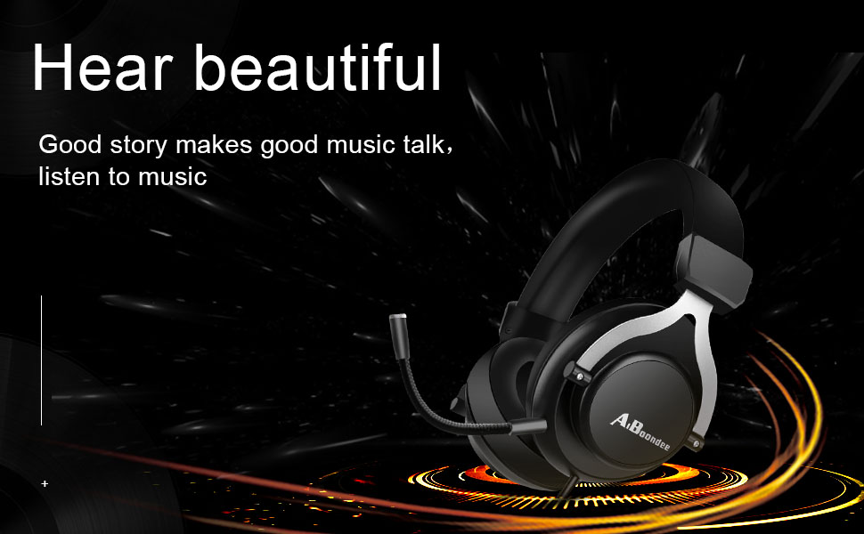gaming headset over ear