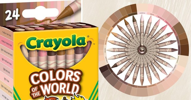 crayola skin colours