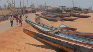 The government has issued an alert, asking fishermen not to go into the sea