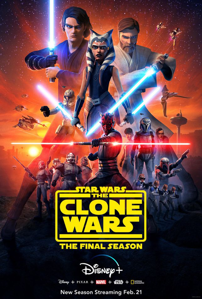 Poster for The Clone Wars