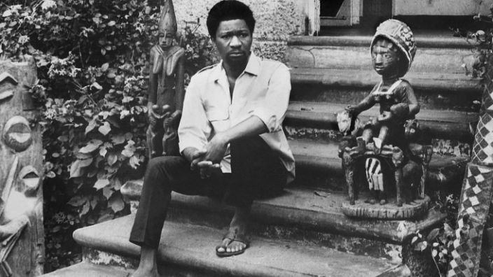 A young Wole Soyinka as a lecturer at the University of Ibadan in the 1960s