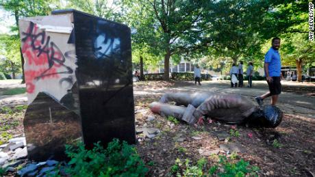 Confederate monuments haunt American democracy