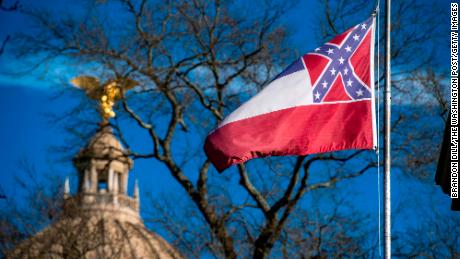 Mississippi's blood-stained flag is America's crisis