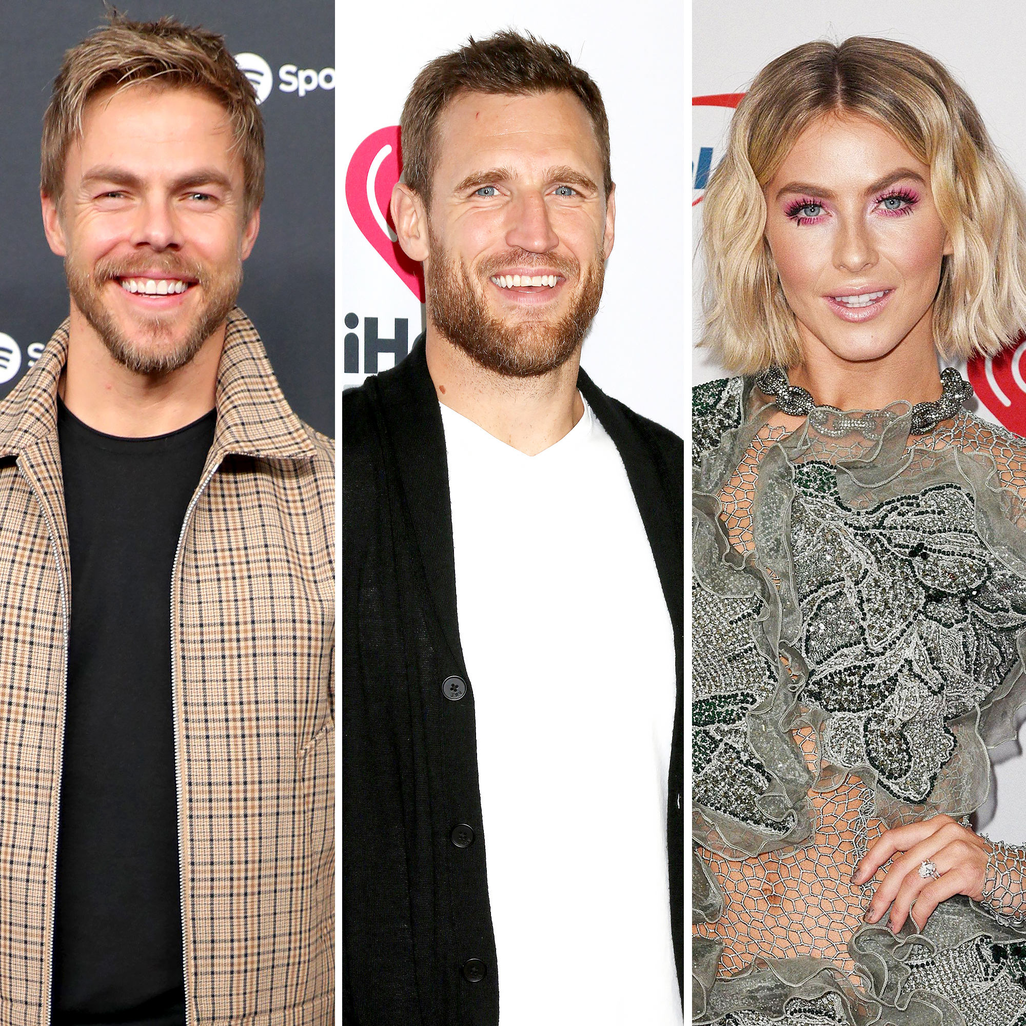 Derek Hough Still Has Love for Brooks Laich Amid Julianne Hough Split