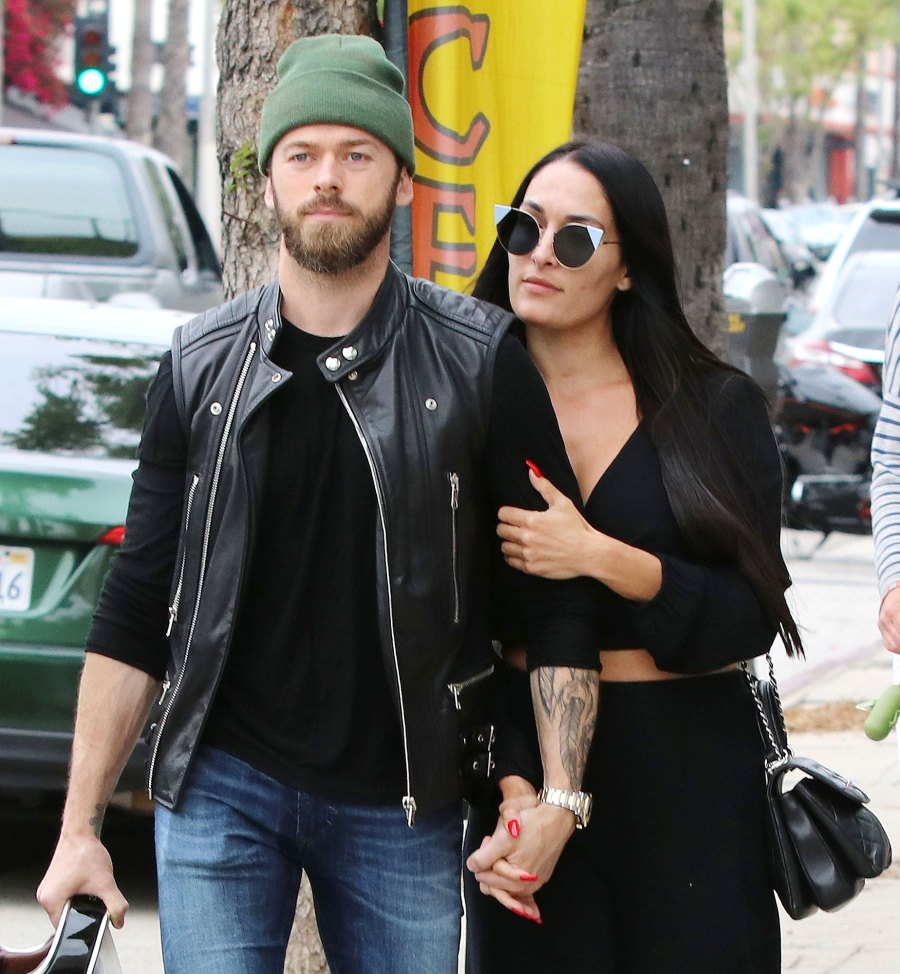 Nikki Bella and boyfriend Artem Chigvintsev PDA