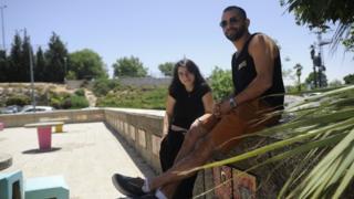 Sharon Barazani (left) and Yedidia Mosawi (right)