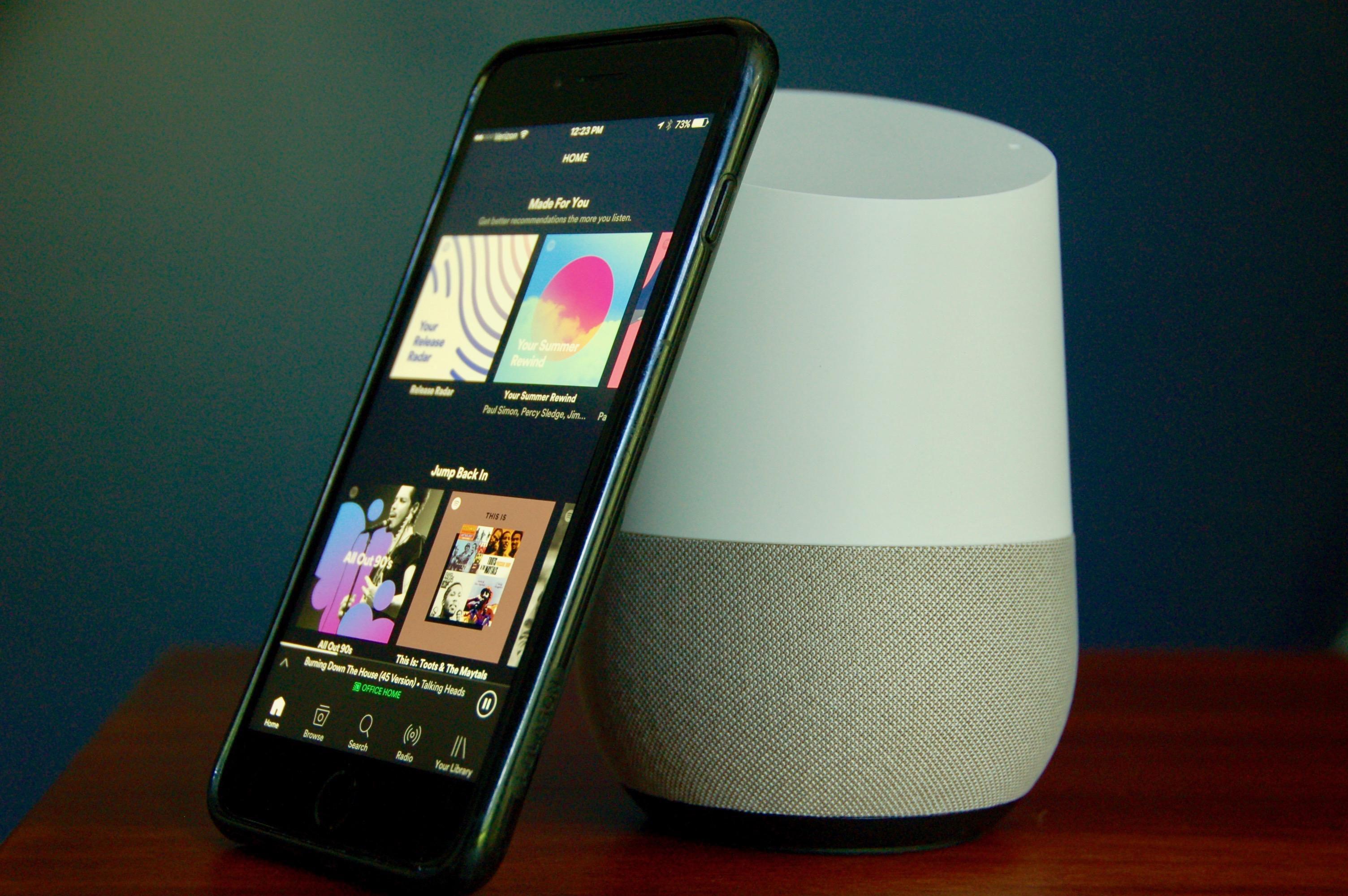 google-home-spotify