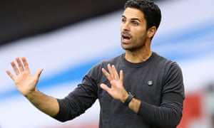 Arsenal manager Mikel Arteta has improved performance levels since taking over from Unai Emery.