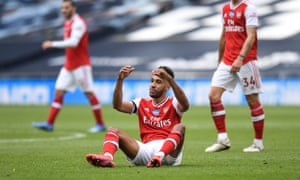 Pierre-Emerick Aubameyang endured a frustrating afternoon.