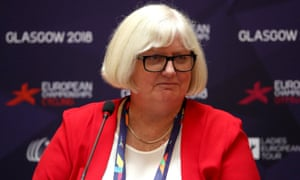 Jane Allen, the chief executive of British Gymnastics.