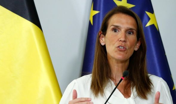 EU news: Sophie Wilmes