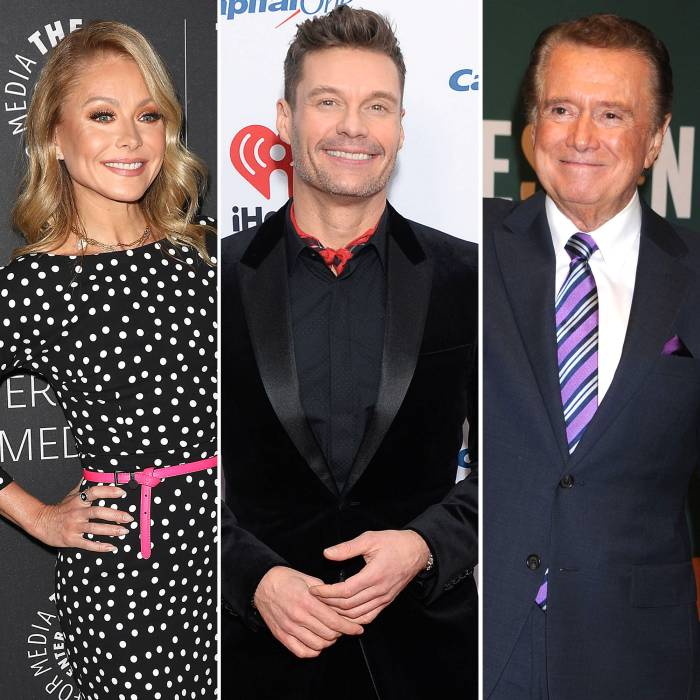 Kelly Ripa and Ryan Seacrest Pay Tribute to Regis Philbin