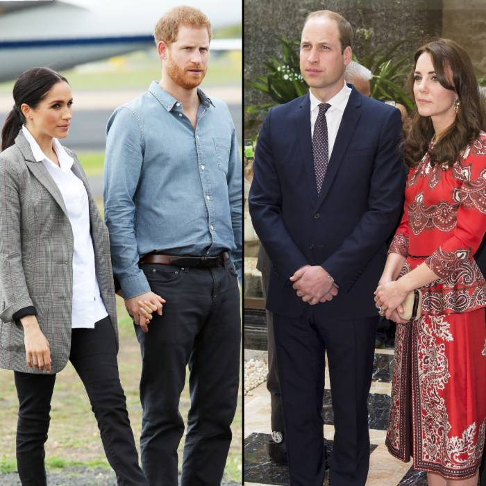 Meghan And Harry Barely Spoke To Prince William And Duchess Kate Book Claims