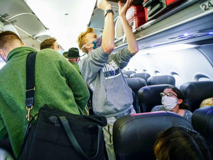 American Airlines Coach Economy Coronavirus Middle Seat