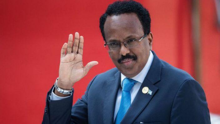 Mohamed Abdullahi Mohamed gave up his US citizenship to become Somalia's president