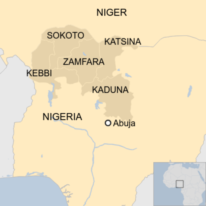 Map: Nigeria