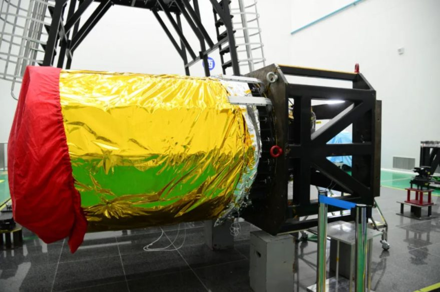 The camera for the Gaofen 'mulit mode' Earth observation satellite.