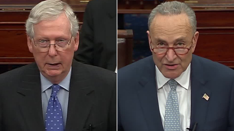 As nation grapples with crisis, McConnell and Schumer aren't negotiating -- with each other