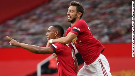 Fernandes has provided United's front three with more chances.