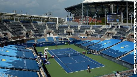 There will be no fans at the US Open for this year's tournament.