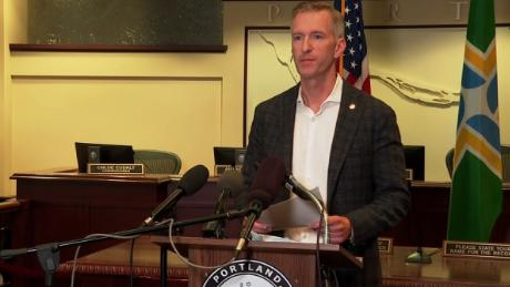 Portland mayor excoriates Trump: 'It's you who have created the hate'