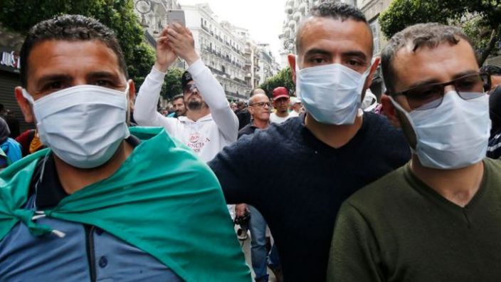 The protesters want reforms in a country where a third of young people are unemployed