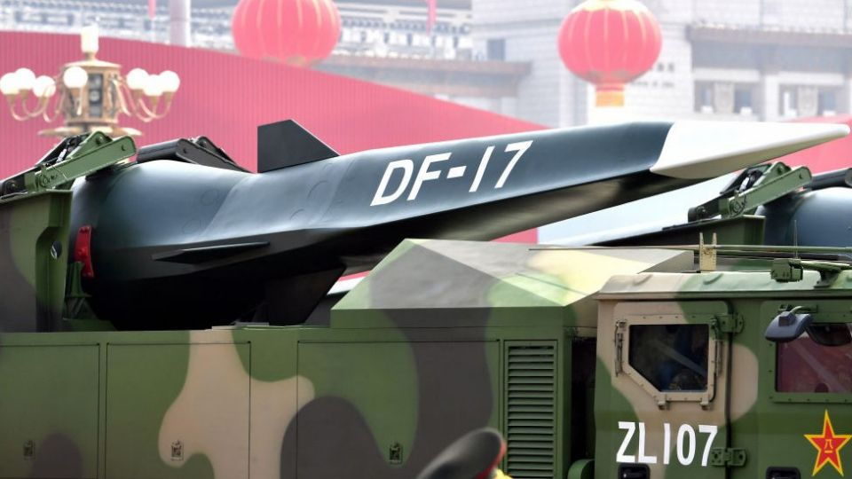 China displayed its hypersonic weapon at a parade in 2019