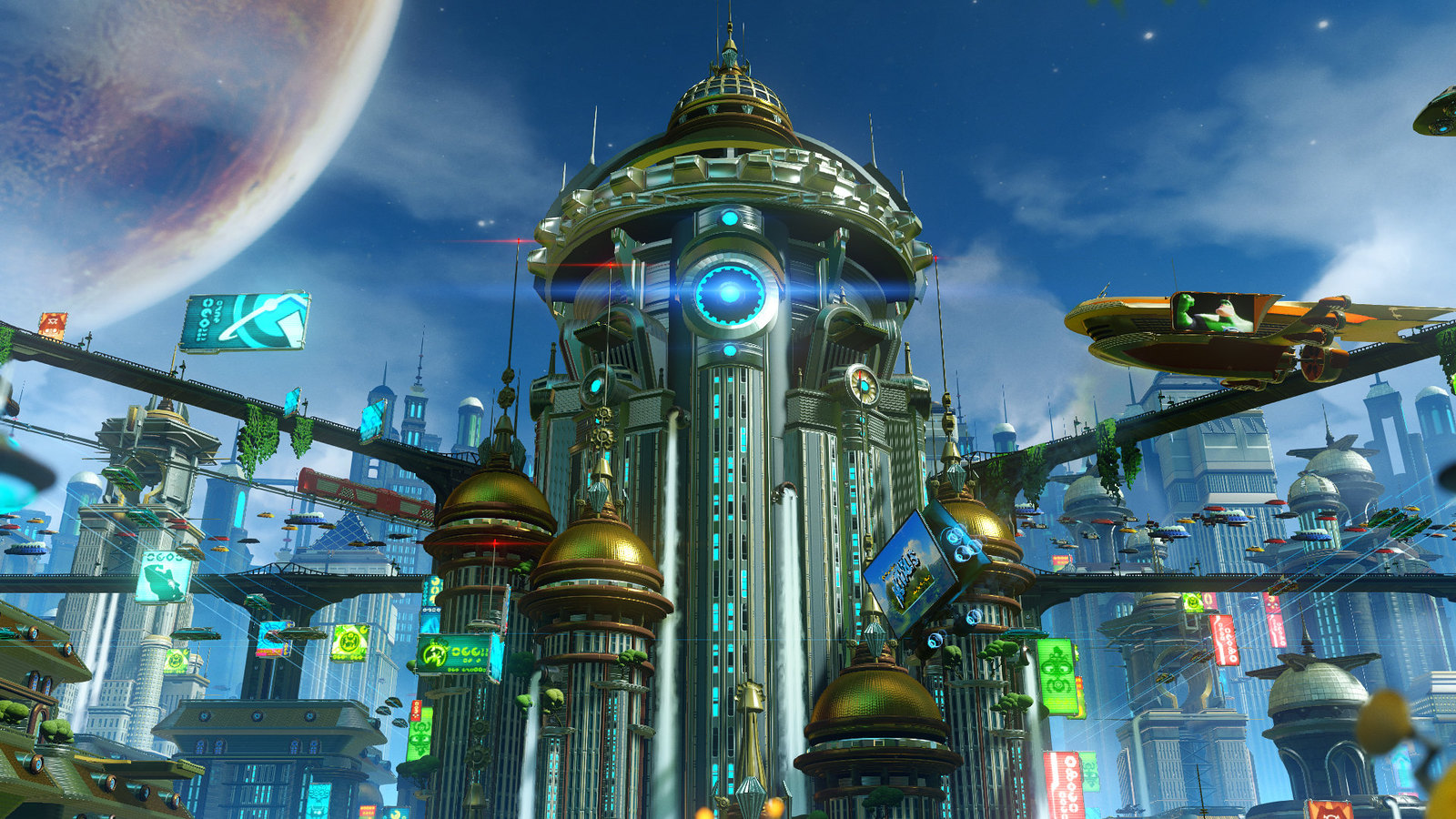 Video Conference Backgrounds - Ratchet and Clank