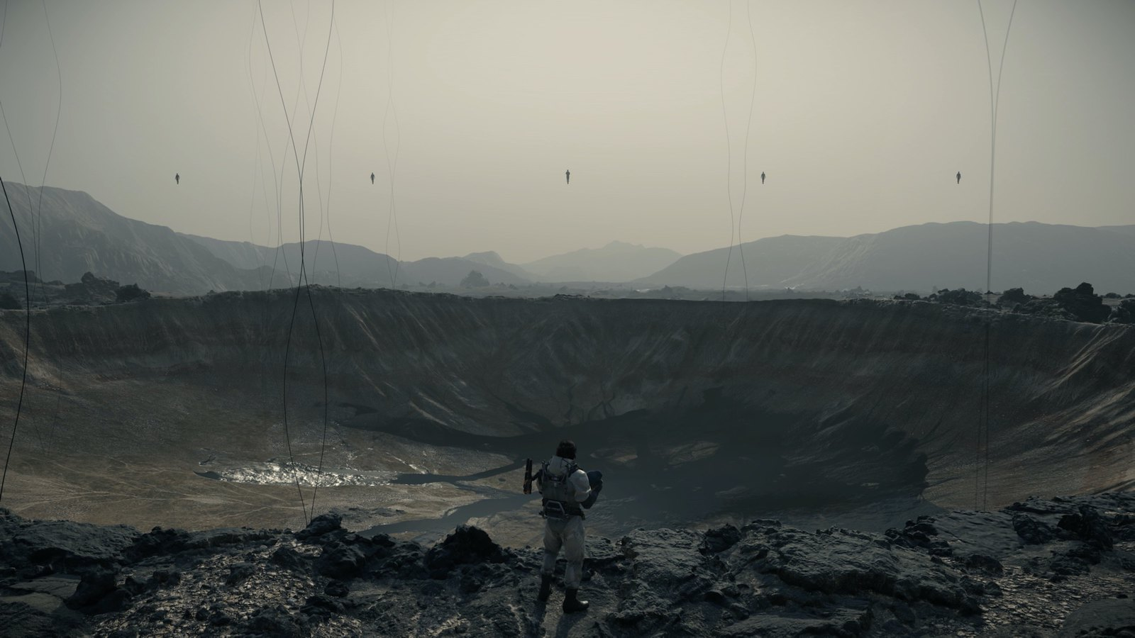 Video Conference Backgrounds - Death Stranding