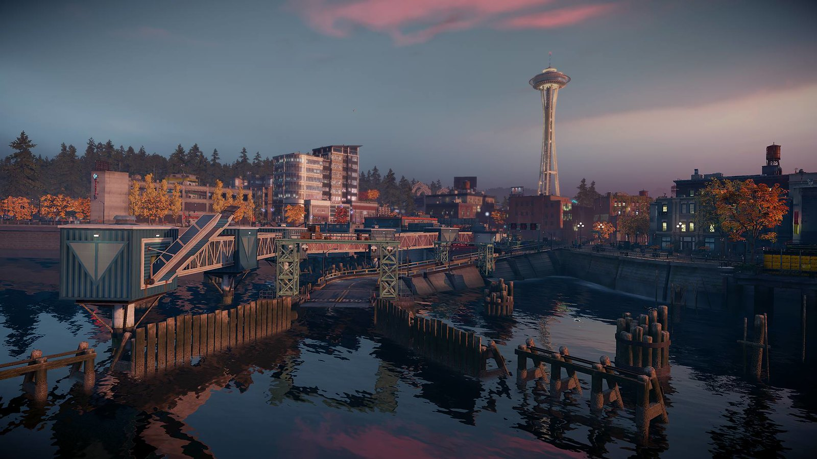 Video Conference Backgrounds - inFAMOUS Second Son