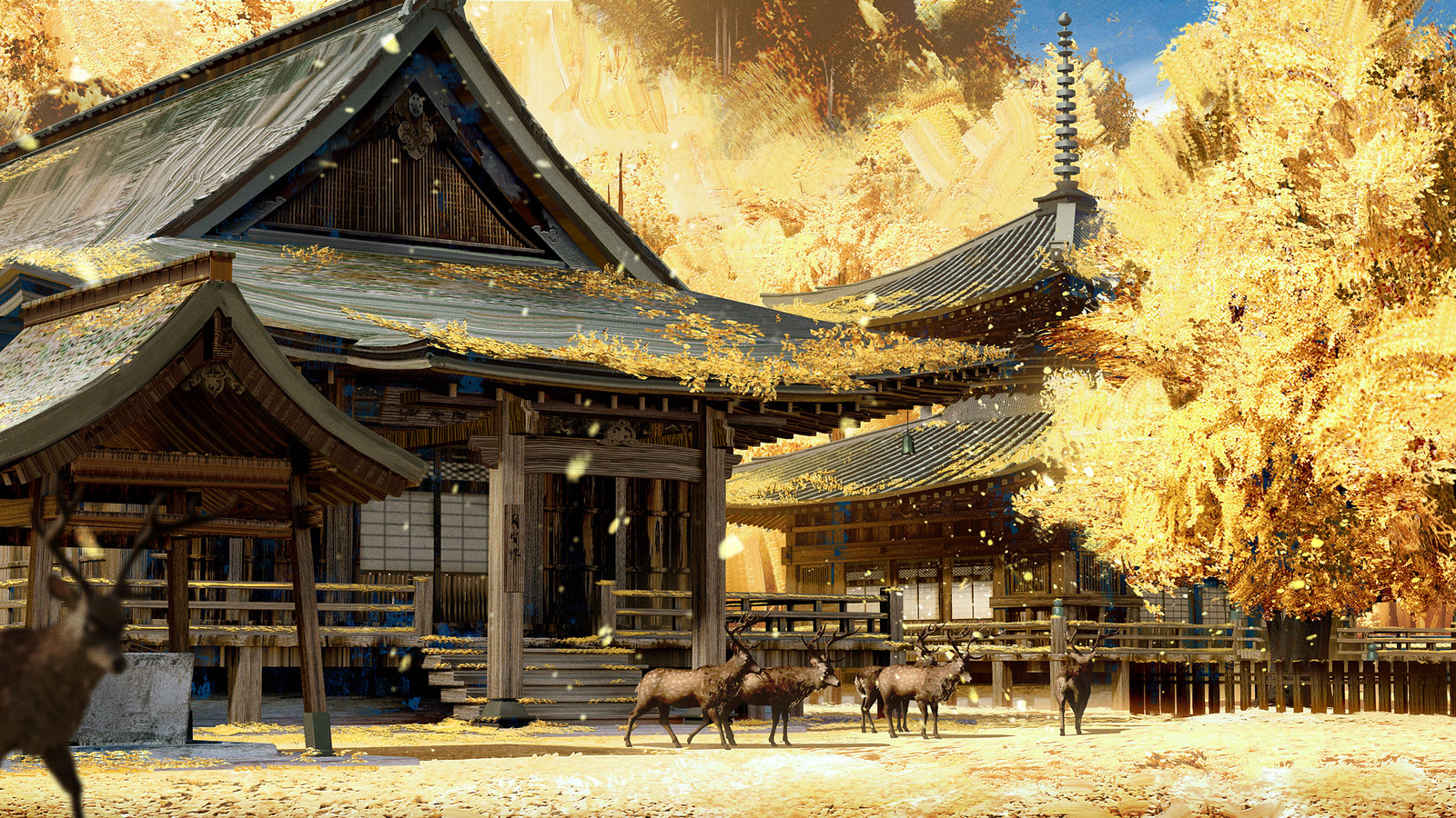 Video Conference Backgrounds - Ghost of Tsushima
