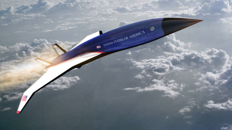 The US Air Force is evaluating a possible hypersonic presidential jet