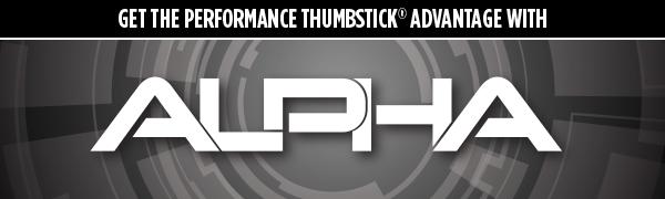 Alpha black kontrolfreek performance thumbstick controller joystick ps4 xbox one