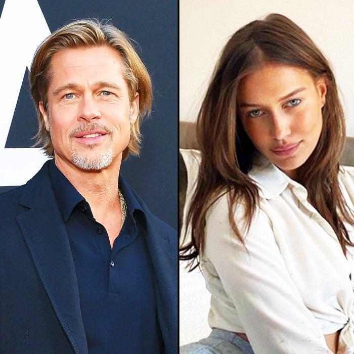 Brad Pitt Takes Nicole Poturalski To French Chateau Where He Married Angelina Jolie
