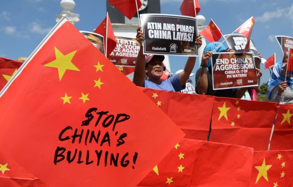 China's dominance in the region criticised
