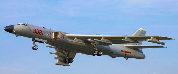 Chinese bomber H-6j
