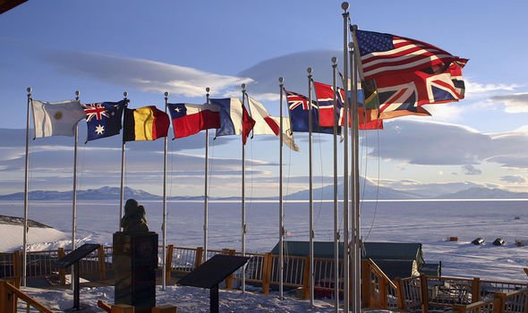 Countries use Antarctica for scientific research