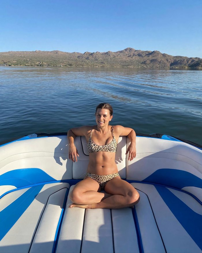 Danica Patrick Shows Off Her Bikini Body on Boat Trip After Aaron Rodgers Split