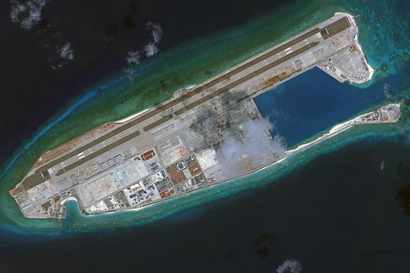 Fiery Cross Reef Paracel Islands