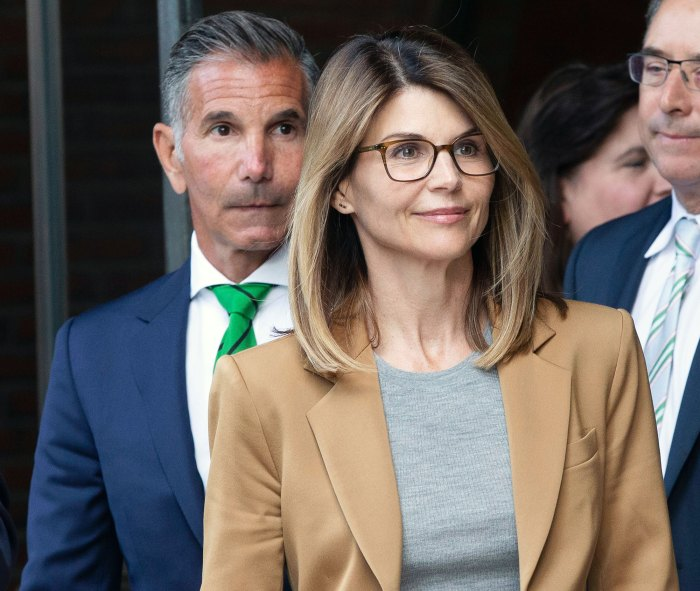 Mossimo Giannulli and Lori Loughlin Leaving Court in 2019 Lori Loughlin Is Nervous Ahead of Sentencing in College Admissions Case