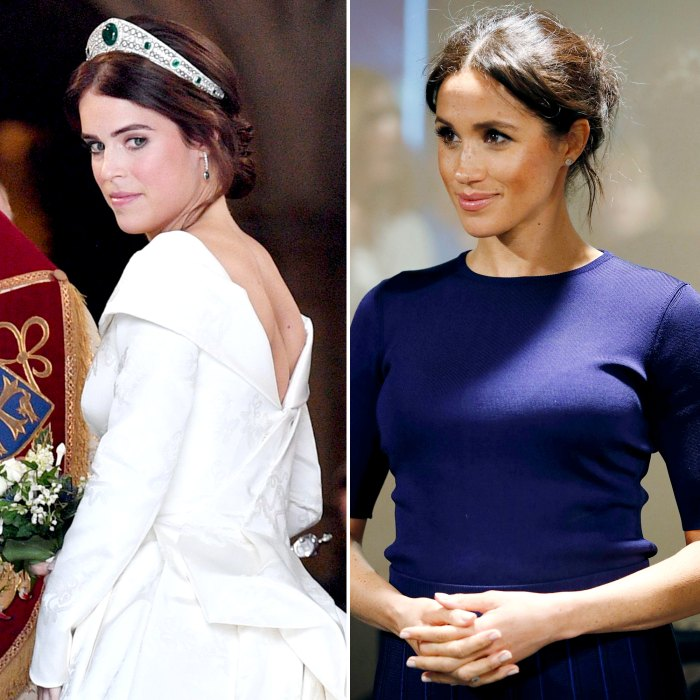 Princess Eugenie Wasnt Happy Meghan Markle Shared Pregnancy News at Her Wedding