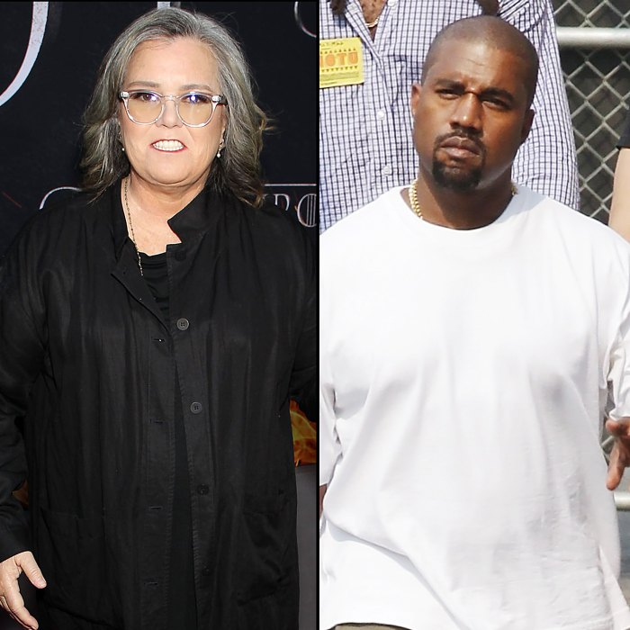 Rosie O'Donnell Tells Kanye West to Take His 'Meds' After Twitter Rants