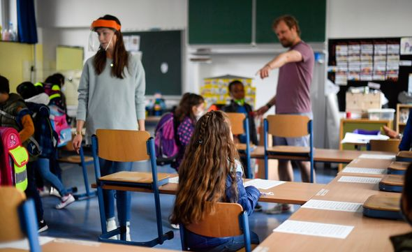 Schools in Germany reopened after summer break