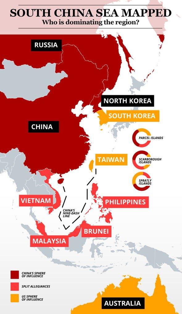 South China Sea crisis mapped
