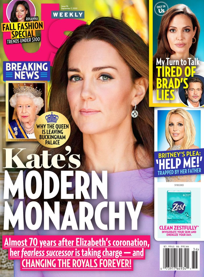 Taylor Swift and Joe Alwyn Have Discussed Children Us Weekly Issue 3620 Cover Duchess Kate