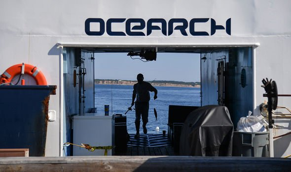 The OCEARCH team is hoping to learn more about great whites
