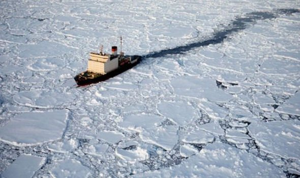 The communist state is increasing its icebreaker presence